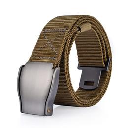 wholesale belts for men 2019 - 8PCS   LOT SINGYOU Men Belt Tactical Army Canvas Belt Casual Pants Waist Strap Cool Wild Gift for Men Cinto cheap wholes