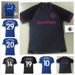 28980afcdd51 hot sale 2018 2019 FC Everton Jersey Men Soccer 3 BAINES 6 JAGIELKA 11  WALCOTT 14 CENK TOSUN GUEYE Football Shirt Kits Premier League Patch