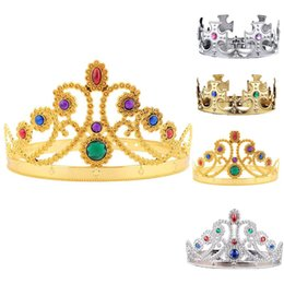 for good hair 2019 - Good Quality Princess Tiara Crystal Crown Hairband Headwear for Party for KIDS,Girls,Boys Hair Accessories cheap for goo