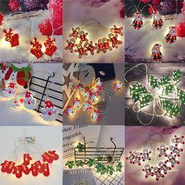 $enCountryForm.capitalKeyWord Australia - 2M Christmas Decor Fairy Lights Snowflake Bell Deer Xmas Garland Indoor Lights Led Lights String Light Party Decoration Pendant