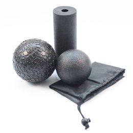 $enCountryForm.capitalKeyWord NZ - EPP Hollow Yoga Column Foam Roller Blocks Massage Yoga Ball Gym Pilates Exercise Fitness Equipment 3 in1