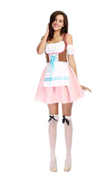 Maids outfits online shopping - Halloween Fancy Girls Cosplay Costumes Adult Women Festavil Party Sexy Outfit Maid Dress Costumes Free Size