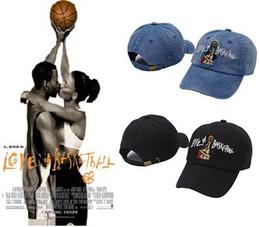 a37dca1000e Love   Basketball Movie Dad Cap Hat OG 90s Vtg Retro Style new Couple caps  bone swag casquette hats for men women panel gorras