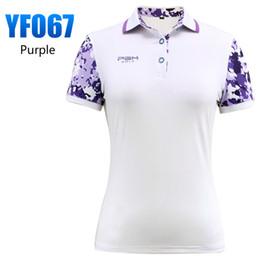 $enCountryForm.capitalKeyWord NZ - 2018 PGM Golf Clothing women's Golf Polo shirts Summer Breathable Short Sleeved Anti-uv sweatshirt for women size S-XL