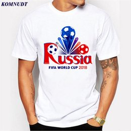 ead9a1e013198 2018 Newest Cool Design World Cup 2018 Russia Men s T-Shirt Plus Size O  Neck Short Sleeve Tee Shirt Men Boy