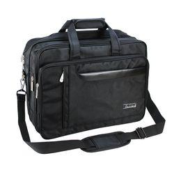 Travel lapTop cases online shopping - Men s Large File Laptop Case Carrier Business Brifecase Holder Expandable Handbag Travel Shoulder Crossbody Messenger Bag