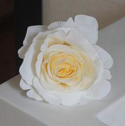 Rose Road wedding online shopping - Wedding cm Silk Rose Flower Head Wedding Festival Celebration Background Road Led Flower Home DIY Artificial Decorative Flower