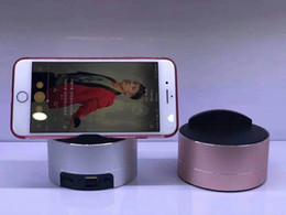 Détection sans fil haut-parleur Mini Bluetooth haut-parleur support de téléphone Veilleuse Portablr version Bluetooth 4.0 + support de lecture DER universel en Solde