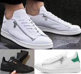 c58ded2bcbd9e 2019 newest mens Y3 Stan Smith Zip Trainers