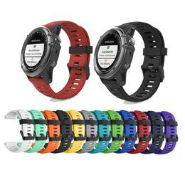 garmin watches 2019 - Oulucci 26mm Width Watch Strap for Garmin Fenix 3 Band Outdoor Sport Silicone Watchband for Garmin Fenix 3HR Fenix 5X wi