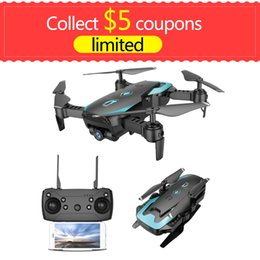 Drone Quadcopter Wifi NZ - X12 4CH RC Foldable Drone Quadcopter long time 150m with0.3MP 720p wide angle option Wifi Camera Live Video One Key Return Flip