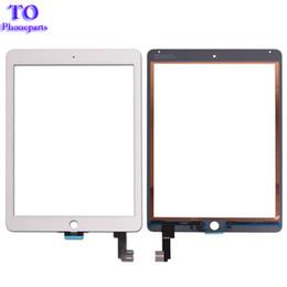 Для iPad Air 2 iPad 6 A1567 A1566 сенсорный экран Digitizer датчик переднее стекло замена DHL Бесплатная доставка