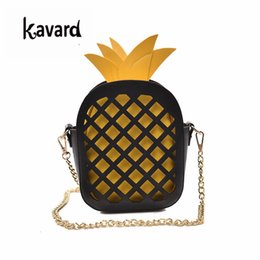 $enCountryForm.capitalKeyWord Australia - kavard pineapple bag handbag women famous Spanish brands Fruit Bag Women Shoulder ladies hand sac a main femme de marque