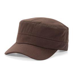 e684b4dbae0 Wholesale 5 Colors Retro Vintage Flat Top Gorras Baseball Caps Bucket Hat  Casquette Snapbacks Designer Hats Dad Hat Women Men Fitted Hats