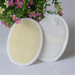 Gloves Bath Rub NZ - High quality Square loofah sponge bath brush Rub towel bath towel bath gloves 300pcs lot IC782