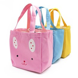 Waterproof cat rabbit Portable Lunch Bag Cooler Bag Thermal Insulation Bags  Travel Picnic Food box bag for Women Girls Kids Adults B cb4a6458ebc01