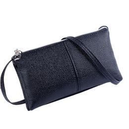 $enCountryForm.capitalKeyWord NZ - Sleeper #5001 Women Leather Bifold Purse Zipper Clutch Handbag Wallet Shoulder Bag Free Shipping