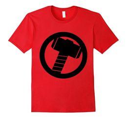 $enCountryForm.capitalKeyWord UK - Thor Hammer T-Shirt Mjolnir Thor's Hammer Norse Mythology T-shirt Funny Tees 2018 Summer Style