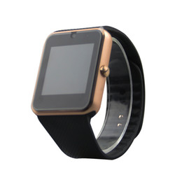 Chinese  GT08 Bluetooth Smart Watch with SIM Card Slot and NFC Health Watchs for Android IOS iphone Smartphone Bracelet Smartwatch manufacturers
