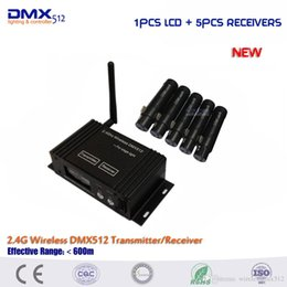 $enCountryForm.capitalKeyWord Australia - DHL Free shipping 2.4G Wireless DMX512 Controller New wireless DMX 126 channels Controller For Stage Dj Disco Club Light.