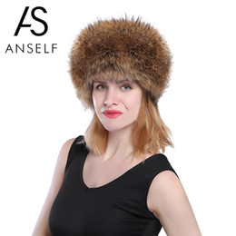 2f71ca7f7ec Anself 2018 New Fake Fur Russian Hat Women Long Faux Rabbit Fur Winter Snow  Hat Full Cap Warm Thick Russia Beret Beanies