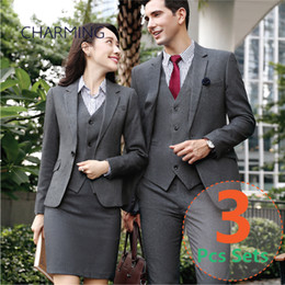 $enCountryForm.capitalKeyWord NZ - Business suits for men Suitable for modern mens suits Formal jackets mens Designer mens suits High quality 3pcs suit (Jacket + Vest + Pants)