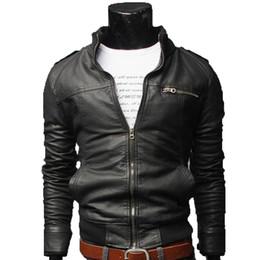 China 2018 New Mens Jackets Solid Color Men'S Outwear Jacket Designer Stylish Men Coats Hot Sale Jacket M-XXXL supplier short slim coat men suppliers