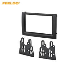 car stereos installed 2019 - FEELDO Car DVD CD Radio Stereo 2DIN Fascia Panel Refitting Frame Facia Trim Install Mount Kit For Skoda FABIA(03~06) #20