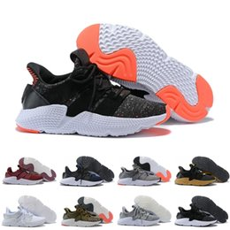 3857704d0100 2018 Prophere Undftd EQT hedgehog sole Running Shoes For men women Black  Red Brown Discount Lightweight Sneakers US 5-11 discount flat sole running  shoes