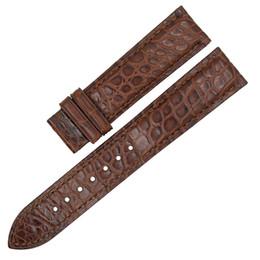 $enCountryForm.capitalKeyWord UK - ZLIMSN Genuine Crocodile Alligator Skin Leather Watch Band Strap Belt 12mm-24mm Watch Bands for Smart Watch