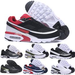 finest selection 5b688 47847 2018 Nike AIR Max 91 Premium BW Scarpe da corsa da donna da uomo Air BW 91  Ultra Outdoor da ginnastica traspirante Scarpe da ginnastica da passeggio  US 7-12