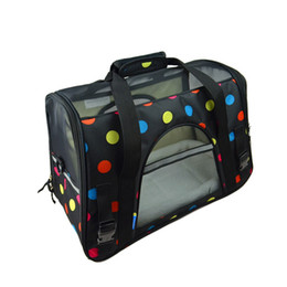 Discount s bag classic - Breathable Pet Dog Carrier Fashion Pets Handbag Portable Small Cat Carriers Puppy Dogs Outdoor Travel Bag Side Carry Bag