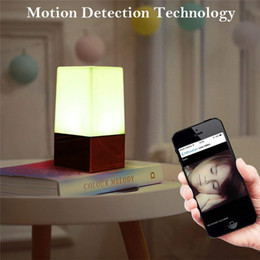 $enCountryForm.capitalKeyWord Australia - HD 1080P WiFi LED Night Light Camera Wireless Security Camera Motion Activated Nanny Cam Night Vision Camera Home Office for Android iPhone