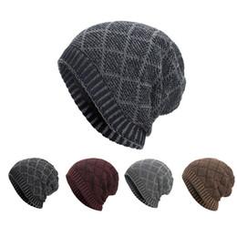c3ae44f8740 2018 Women Men Adult Casual Warm Acrylic Baggy Weave Crochet Winter Wool Knit  Ski Beanie Skull Caps Hat  25