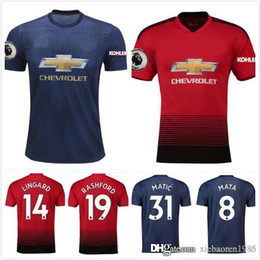 963f37304 Football Jersey Sanchez UK - 2018 2019 Soccer Jerseys ALEXIS Sanchez Home  3rd 18 19 Ibrahimovic