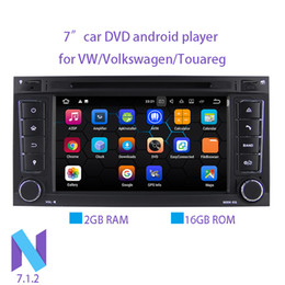 $enCountryForm.capitalKeyWord NZ - Wholesales! 7 Inch Android 7.1.2 Car DVD Player For VW Volkswagen Touareg With Canbus Wifi GPS Navigation Bluetooth Radio