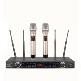 $enCountryForm.capitalKeyWord NZ - ATD UG-238 New 2x100 Channel UHF Wireless Handheld Microphone System Head Wireless microphone