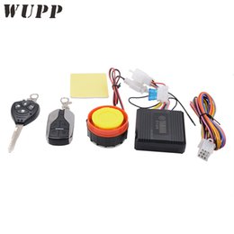 Discount moto key - WUPP Universal Motorcycle 12V Scooter Alarme Moto Theft Anti-Lost Alarm Security System With A Key 4 Button Remote Contr