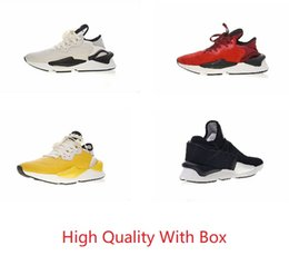 9dda35a44ca0b 2018 Nuova versione Y-3 Kaiwa Chunky Scarpe casual da uomo di lusso moda  giallo nero rosso bianco Y3 Boots Sneakers