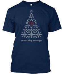 Máquina Lavável Publicitária Gerente De Malha De Árvore De Natal T-shirt Élégant Novo Tops 2018 Imprimir Letras Homens T-Shirt