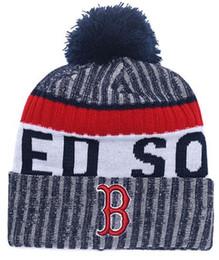 2018 gorros de Boston inverno sox beanie gorro de alta qualidade cap homens mulheres Skullies Skullies malha de algodão todas as equipes de beisebol chapéus