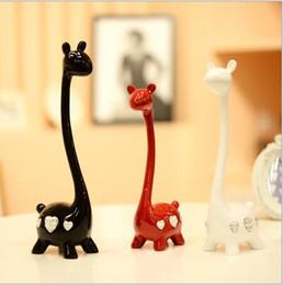 $enCountryForm.capitalKeyWord Canada - Cute Artificial Giraffe Resin Crafts Figurines for Garden Fashion Sculpture Ornament Artificial Home Hotel Decoration Giraffe Crafts Gift