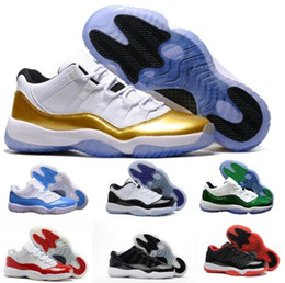 6900aea9f5dce2 New 11 Low Basketball Shoes Mens Women Red 11s XI Lows GS Emerald Bred  Carolina Barons Closing Gum Heiress Moon Sprot Sneakers