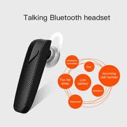 Iphone Hands Free Bluetooth Australia - Mini Bluetooth Earphone Business Wireless Headset with Microphone Hands Free Earphone for Xiaomi iPhone Samsung Mobile Phone