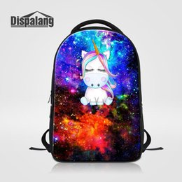 $enCountryForm.capitalKeyWord Canada - Women Men's Large Capacity Laptop Backpacks Animal Unicorn Printed School Bag For College Students Bagpack Unisex Daily Rucksack