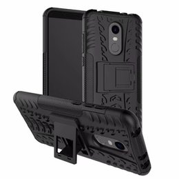 Heavy Duty Note Phone Case UK - For Xiaomi Redmi Note 5 Case Shockproof Phone Case Heavy Duty Armor Hybrid Silicone Hard plastic Back Cover for Redmi Note 5