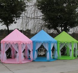$enCountryForm.capitalKeyWord NZ - Portable Toy Tents Princess Castle Play Game Tent Activity Fairy House Fun Indoor Outdoor Sport Playhouse Toy Kids Xmas Gifts