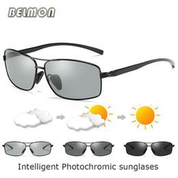 26d5fae2dd119 Al Mix NZ - BELMON Polarized Sunglasses Men AL-MG Frame Driver Photochromic  Sun Glasses