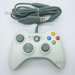 Wireless Usb Game Controller Pc Australia - Free shipping Black color USB Wired Joypad Gamepad Controller For Microsoft Xbox Slim 360 PC Windows7 Joystick Game Controller