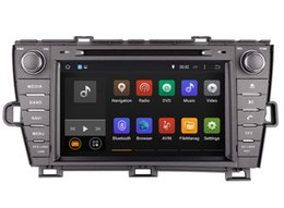 Chinese  Android 7.1 Head Unit Car DVD Player for Toyota Prius 2009-2013 with GPS Navigation Radio Bluetooth USB SD AUX Audio Stereo Navigator manufacturers